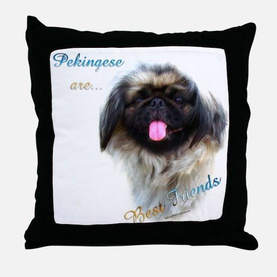 Pekingese Best Friend 1 Throw Pillow