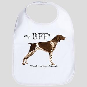 my BFF German shorthaired pointer Baby Bib