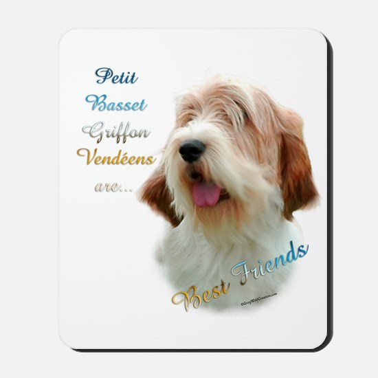 PBGV Best Friend 1 Mousepad