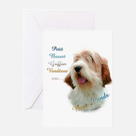 PBGV Best Friend 1 Greeting Card