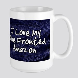 funklove_oval_bluefront Stainless Steel Travel Mug