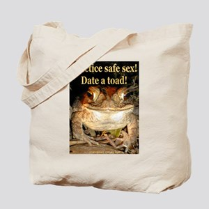 Date a toad Tote Bag