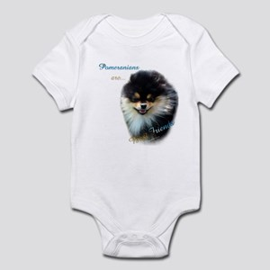 Pomeranian Best Friend 1 Infant Bodysuit