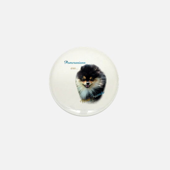 Pomeranian Best Friend 1 Mini Button