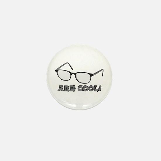 Cool Eyeglasses Mini Button