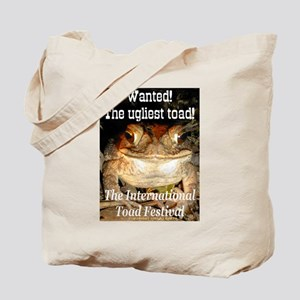 The ugliest toad Tote Bag