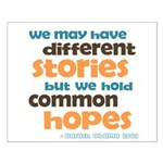 Common Hopes Small Poster
