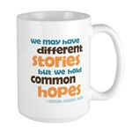 Common Hopes Large Mug