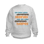 Common Hopes Kids Sweatshirt
