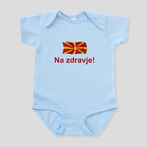 Macedonia Na zdravje Infant Bodysuit