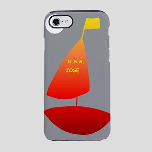 USS Jose Sailing iPhone 8/7 Tough Case