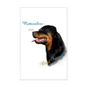 Rottweilers Posters Cafepress