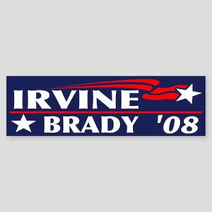 Irvine-Brady Bumper Sticker