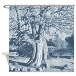Mother Goddess Tree Shower Curtain