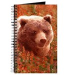 Grizzly Bear Cub in Fireweed Journal