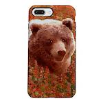 Grizzly Bear Cub in Fir iPhone 8/7 Plus Tough Case