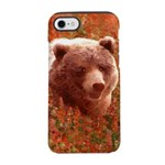 Grizzly Bear Cub in Fireweed iPhone 8/7 Tough Case