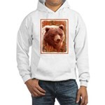 Grizzly Bear Cub in Fireweed Hooded Sweatshirt