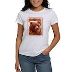 Grizzly Bear Cub in Firewe Women's Classic T-Shirt