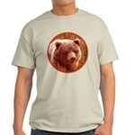 Grizzly Bear Cub in Fireweed Light T-Shirt