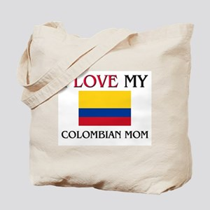I Love My Colombian Mom Tote Bag