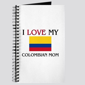 I Love My Colombian Mom Journal
