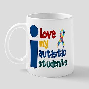 I Love My Autistic Students 1 Mug