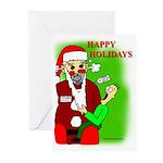 AUTOSANTA 5000 Greeting Cards (Pk of 10)