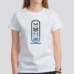 Alien-Egyptian Cartouche 12 Women's T-Shirt