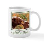 Grizzly Bear Mom and Cub 11 oz Ceramic Mug