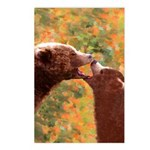 Grizzly Bear Mom and Cub Postcards (Package of 8)