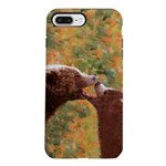 Grizzly Bear Mom and Cu iPhone 8/7 Plus Tough Case