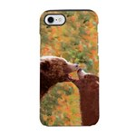 Grizzly Bear Mom and Cub iPhone 8/7 Tough Case