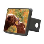 Grizzly Bear Mom and Cub Rectangular Hitch Cover