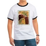 Grizzly Bear Mom and Cub Ringer T