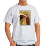 Grizzly Bear Mom and Cub Light T-Shirt