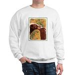 Grizzly Bear Mom and Cub Sweatshirt