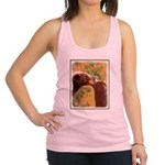 Grizzly Bear Mom and Cub Racerback Tank Top