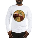 Grizzly Bear Mom and Cub Long Sleeve T-Shirt
