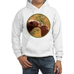 Grizzly Bear Mom and Cub Hooded Sweatshirt