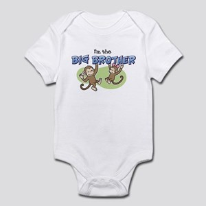 Big Brother - Monkey Infant Bodysuit