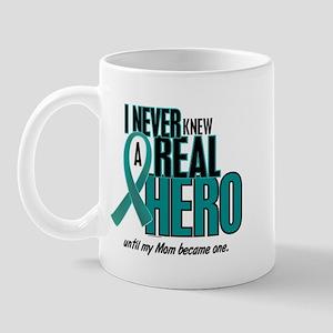 Never Knew A Hero 2 Teal (Mom) Mug