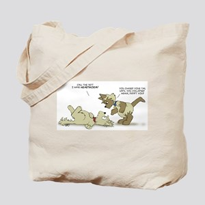 Little Kingdom: Heartworm Tote Bag
