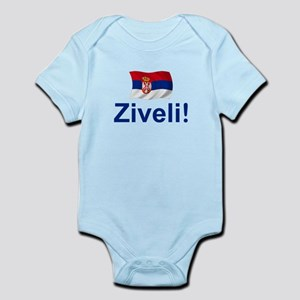 Serbia Ziveli Infant Bodysuit