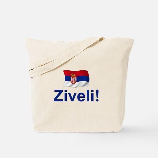 Serbia Ziveli Tote Bag