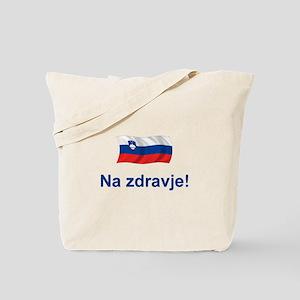 Slovenia Na zdravje Tote Bag