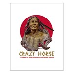 Crazy Horse Small Poster