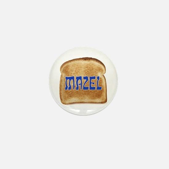 Mazel Toast Mini Button