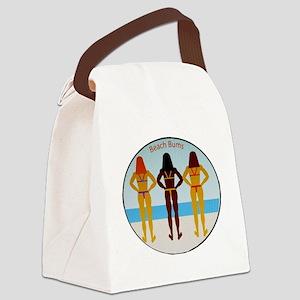 Beach Bums Canvas Lunch Bag