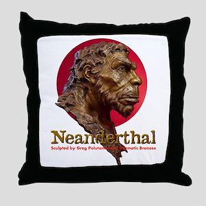 Neanderthal Throw Pillow